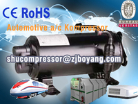 Electric compressor for Recreational Vehicles Motor Homes Camper Vans Caravans and Luxury Vehicles