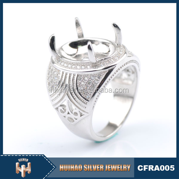 indonesia 925 mens sterling silver ring settings