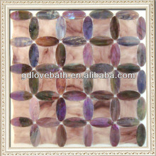 New Design!!!tiffany glass mosaic floor wall tiles