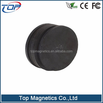 Custom Made Round shape of Ferrite Magnet Rare Earth Magnet Permanent Magnet Industry Magnet