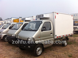 -15 degree Celsius mini freezer van refrigerated van