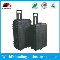 Plastic waterproof case for equipment