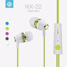Wholesale Stereo Bass Music With Microphone Good Sound Quality Phone Earphone