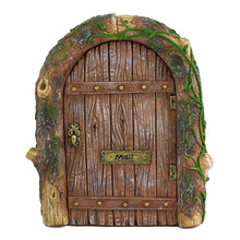 Wholesale Miniature Resin Miniature Fairy Garden Gnome Door