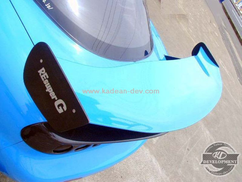RX7 FD3S RE AMEMIYA RE-GT GT2 SUPER LOW STYLE GT WING CARBON FIBER