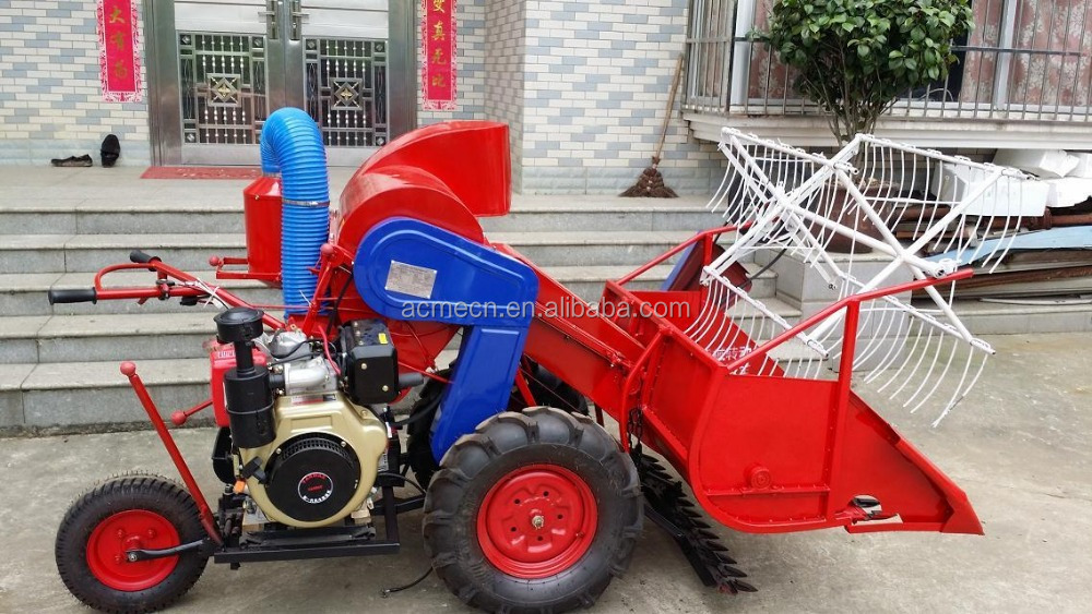 4LZ-0.6A rice wheat combine harvester 9 -