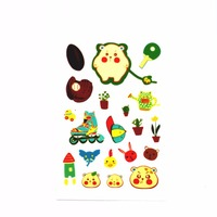 Cute Cartoon Self Adhesive Glow In