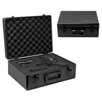 Custom Hand Gun Hard Locking Case Airsoft Pistol Aluminum Security Range Box