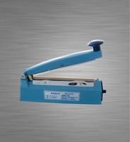 Portable hand impulse type pvc heat sealer