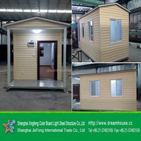 Prefab galvanized steel containe home for sale