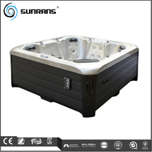 Hot Sale PVC Skirt and Steps Outdoor Balboa System Whirlpool SPA