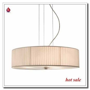 Simple Style Restaurant Hanging Lights With White Folded