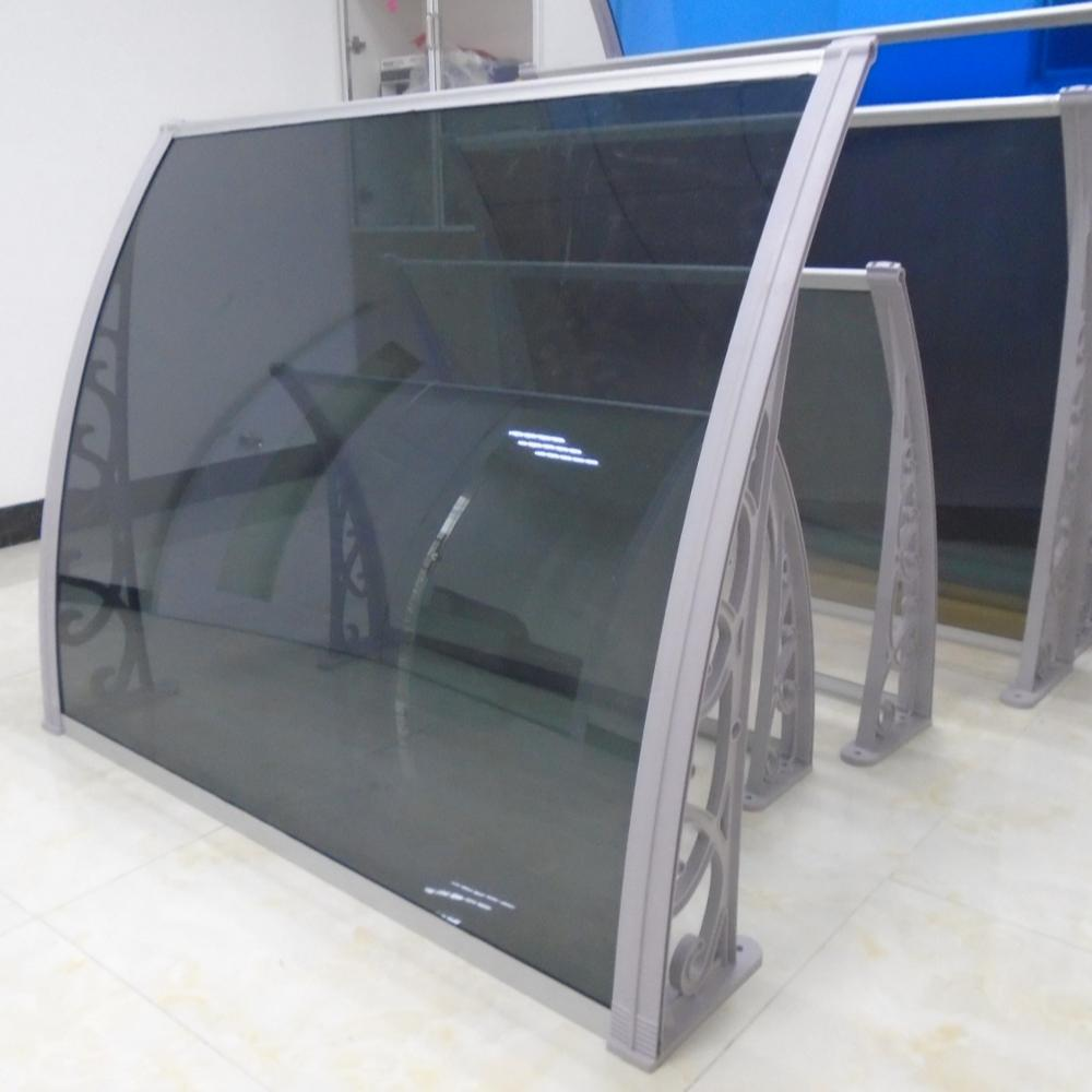 Sunshade Rain Aluminum PC Sheet Window Awning