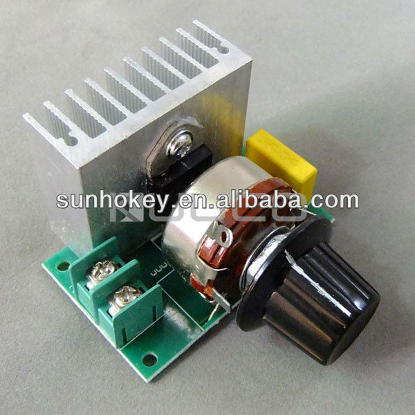 3800W SCR Voltage Regulator Dimming Thermostat DC Motor Speed Controller Adjustment