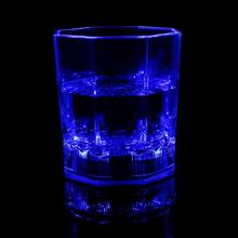 2016 Hot Sale Colorful 5 LED Flashing Light Whisky Drink Decor Cup Bar Party Club Glowing Mug Party Supplies