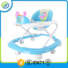 Rotating freely wheels new plastic baby walker pp baby carrier