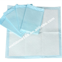 Tissue fluff pulp sap absorbent paper for underpads