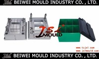 plastic injection car battery box mould in taizhou/plastic car battery case mould making&design