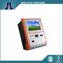 "17"" wall mounted coin operated kiosk with printer (HJL-9904)"