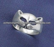 fashion silver ring jewelry