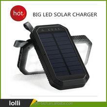 2017 newest real capacity 8000 mah solar charger cell phone