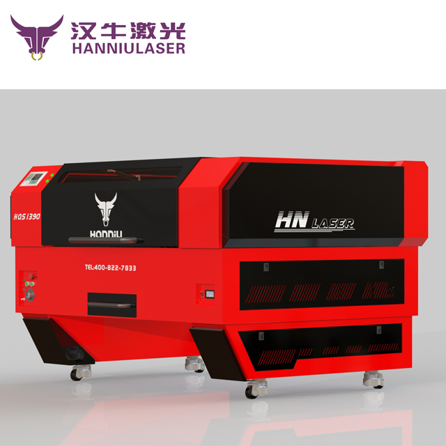 HQ1390 mix cutting machine from Hanniu laser factory 150w hybrid laser cutting machine