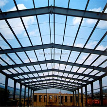 low cost prefab quick build steel structure factory shed/warehouse building construction plan