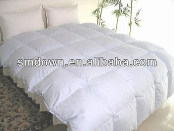 white duvets filling 75% goose down,bedding