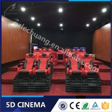 Yes! High Quality First Brand 5D/7D/8D/9D/Xd Cinema 5D Moving Seat Theater Simulator