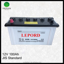 12V rechargeable solar dry cell manufacturers battery for car
