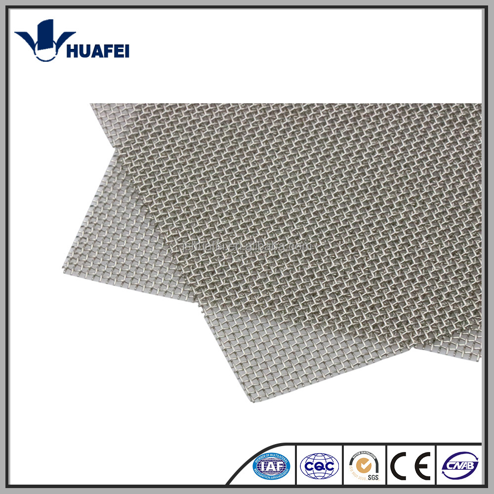 Grey stainless steel woven wire mesh price