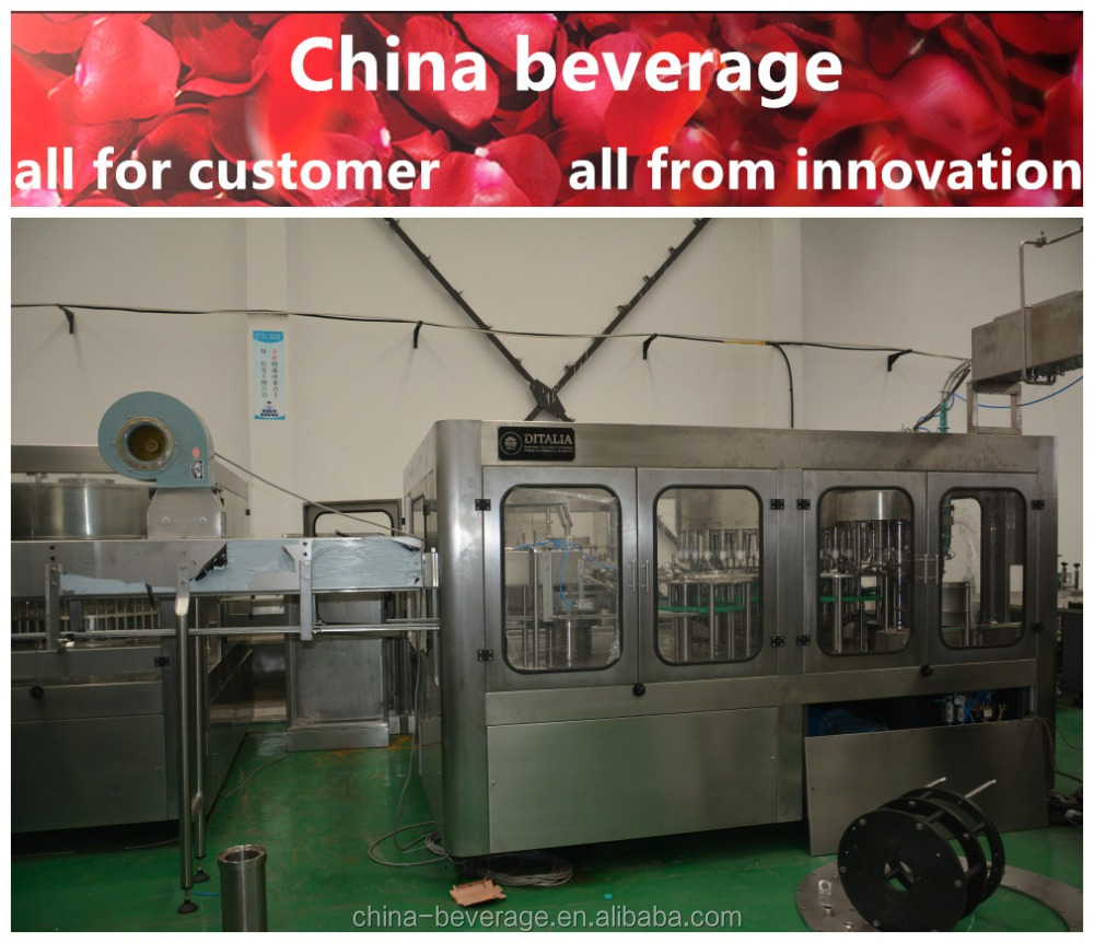 Water bottling production line / automatic bottle water filler