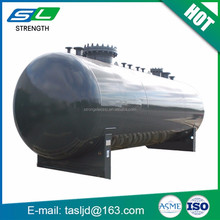 The newest type horizontal oil tank carbon fiber propane tank with senior quality