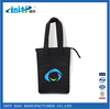 Fashion top quality printed design 210D polyester bottle cooler bag