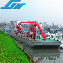 Hydraulic Knuckle Boom Marine Cranes Folding Arm Type