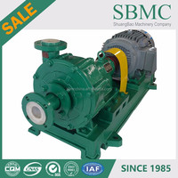ASME standard chlorine chemicals 1,5 hp centrifugal pump manufacture