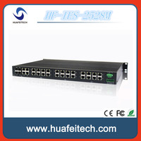 24 Port Managed gigabit industrial Ethernet Switch/1000M network switch