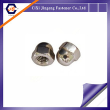 China Manufacture Supply DIN1587 with high quality good price stainless steel cash nut