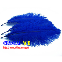 Real Natural Home Decor cobalt Ostrich Feathers Great for Party Wedding Decorations