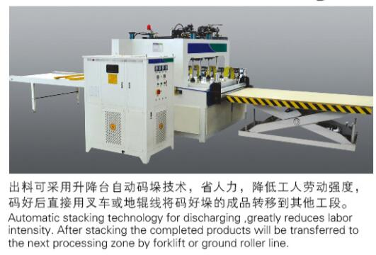 High Frequency edge banding machine /board jointing machine
