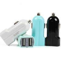 3100mA 2 Dual Port Micro USB Car Power Charger For Android Smartphones