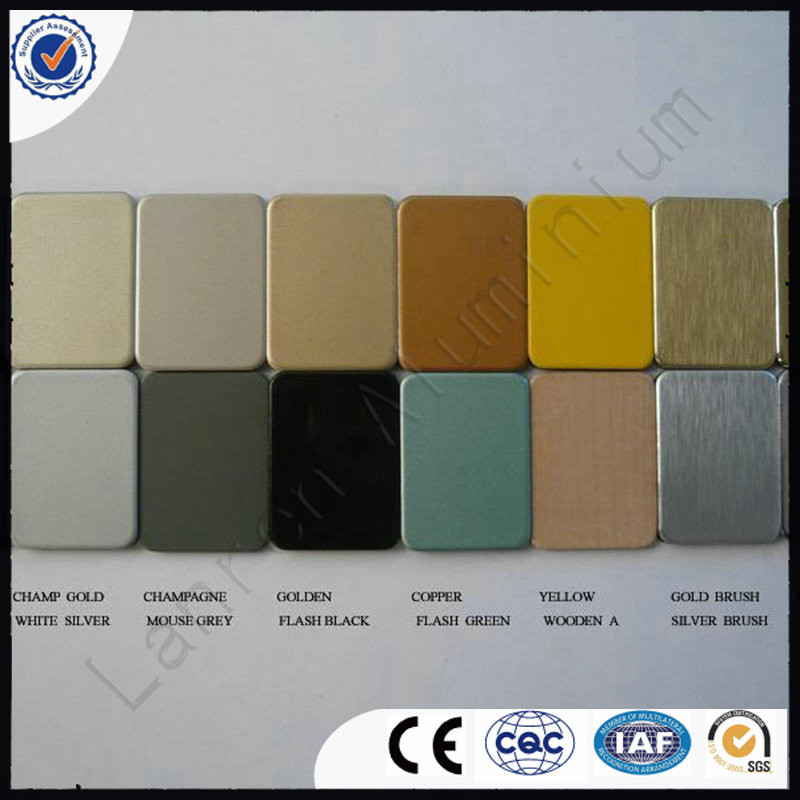 outdoor panel class A2 fire rated aluminum composite panel ACM/ACP