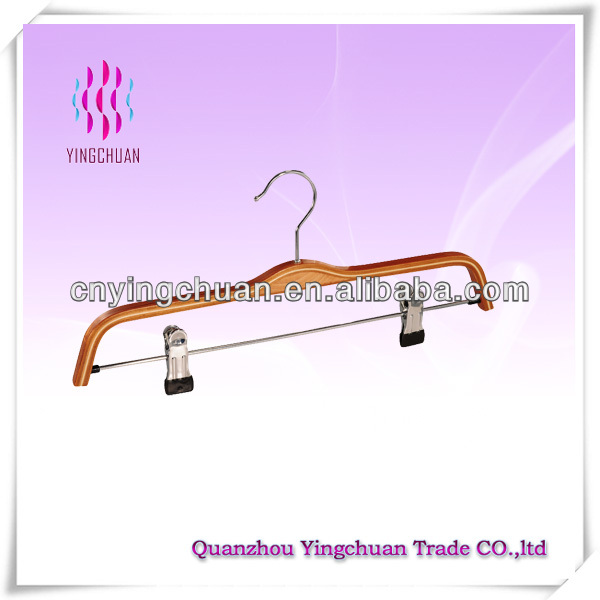 Cardboard clothes hanger with bar