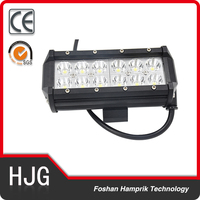Cheap car accessories 6.5 inch 36W double row car roof lightings led light bars