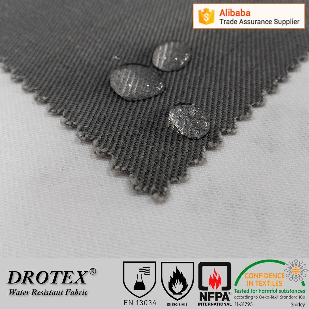 Wholesale cotton fire resistant ptfe water resistant treated waterproof breathable flexible fabric