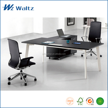 High quality MFC/MDF board with side caninet luxury modern office furniture executive desk