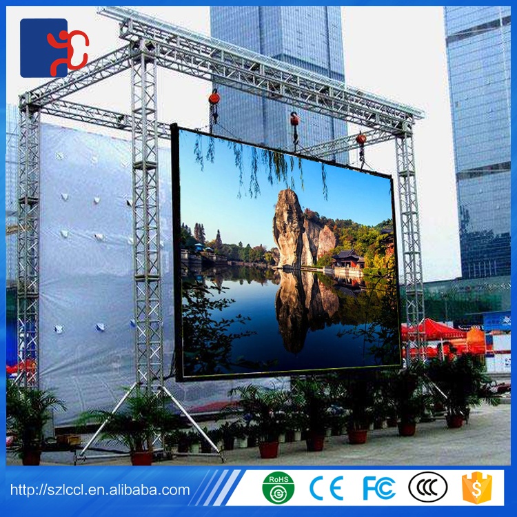 Alibaba waterproof SMD advertising led display billboard / HD P3.91 P4 P4.81 P5 P6 led display