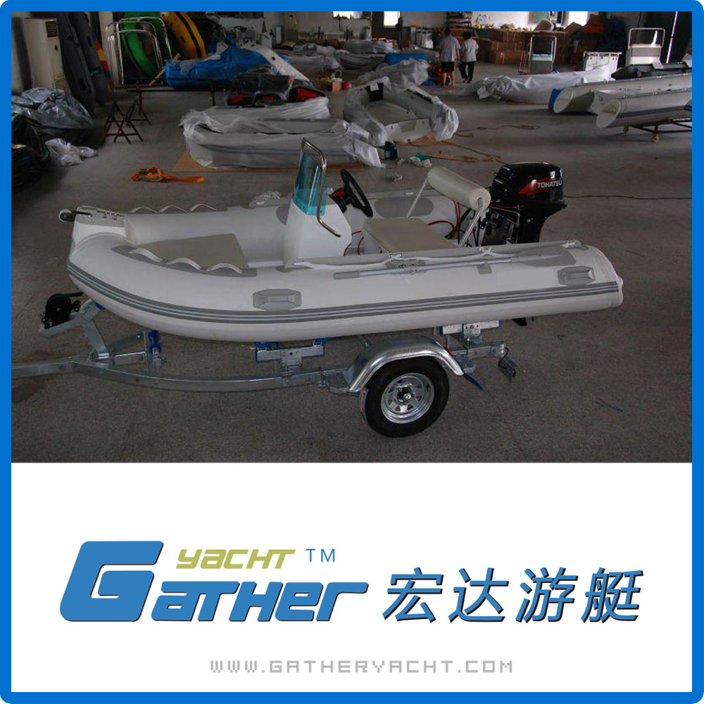 Gather High Quality China New Style PVC small rib boat