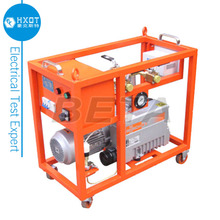 Mobile SF6 Vacuum Pump Unit for Evacuating and Refilling SF6 Gas