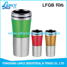 14oz high quality custom non spill plastic paper cup holder